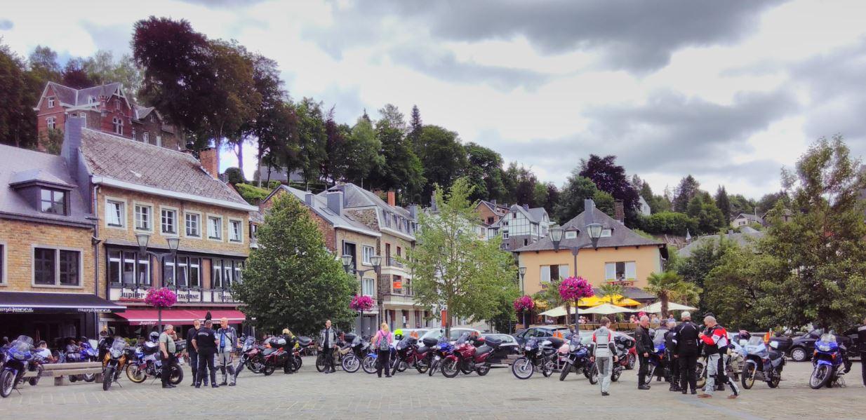 Pause in La-Roche-en-Ardenne