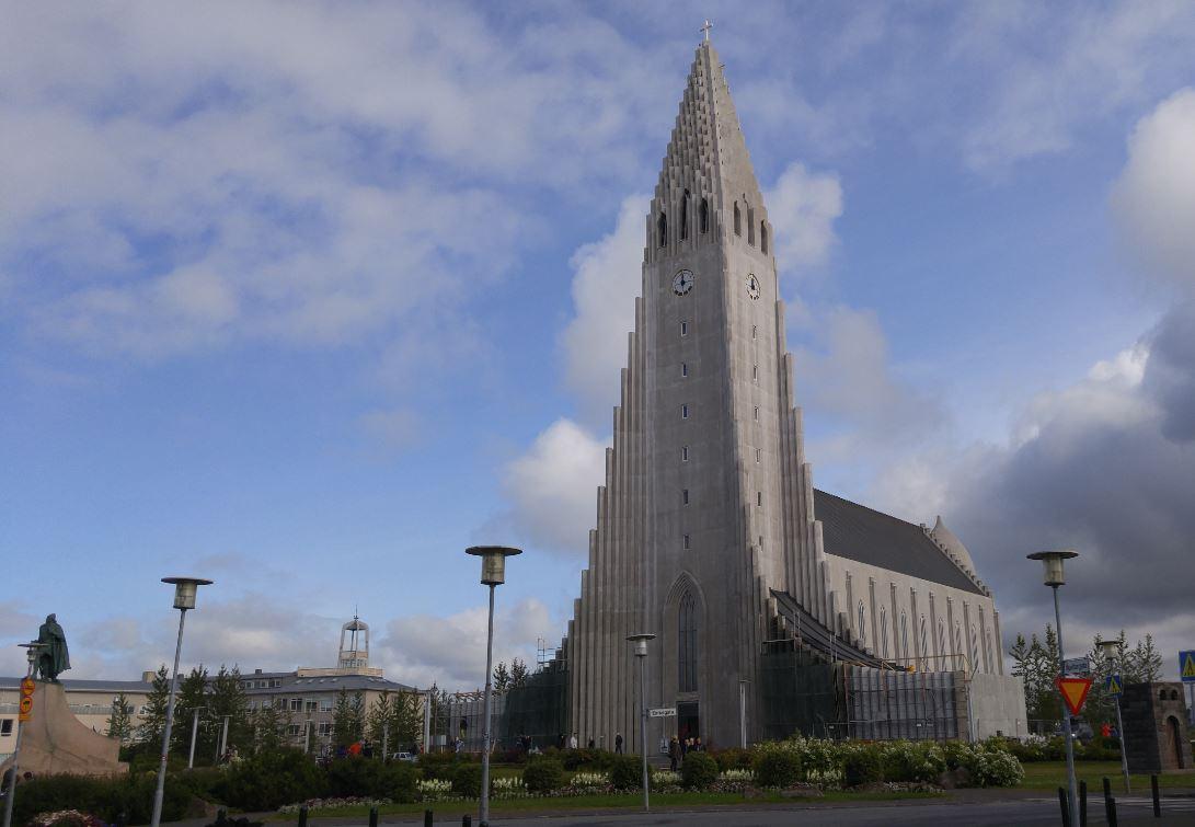 Islands höchstes Bauwerk, der Dom