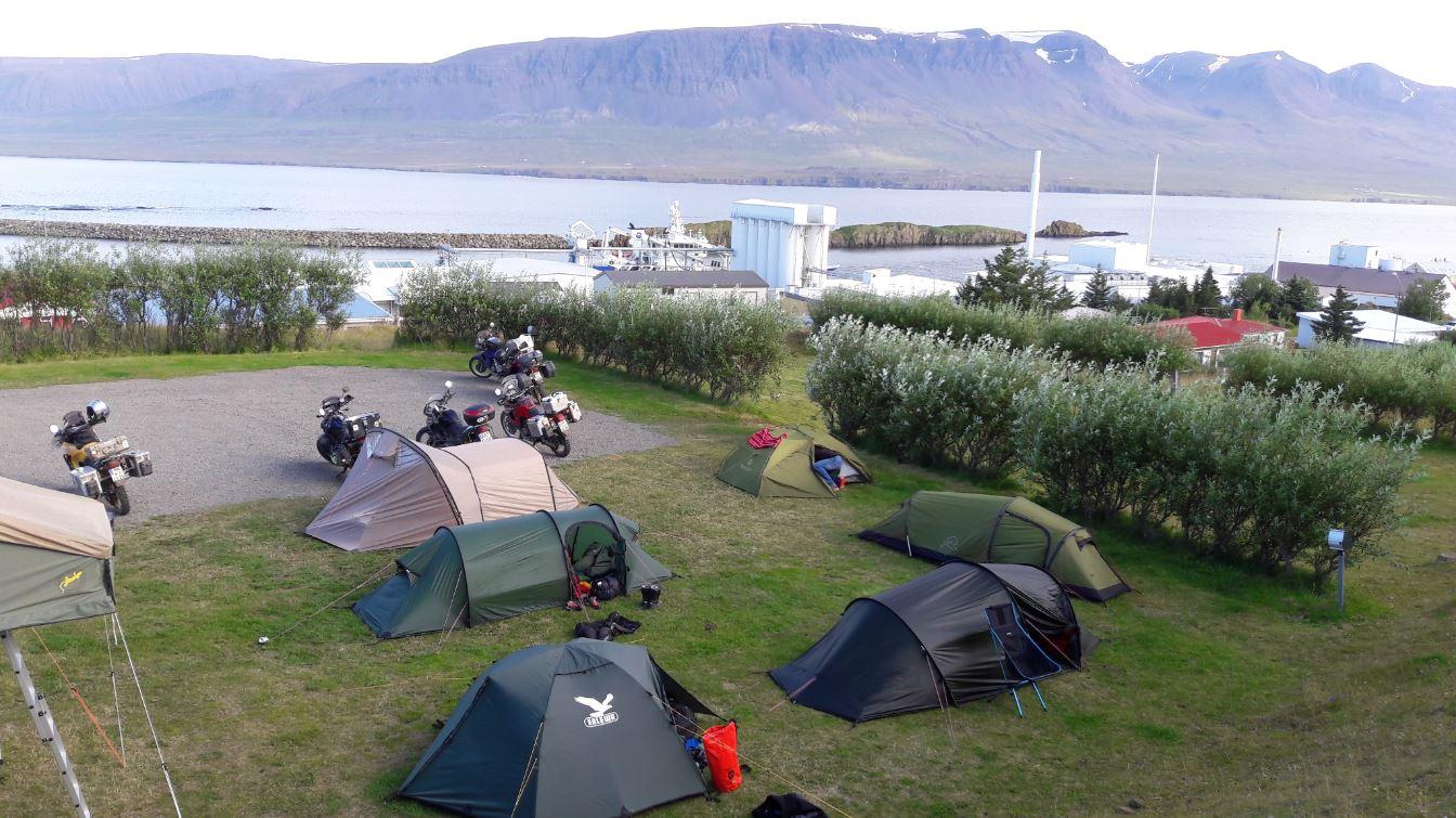 Der Zeltplatz mit der schönsten Aussicht