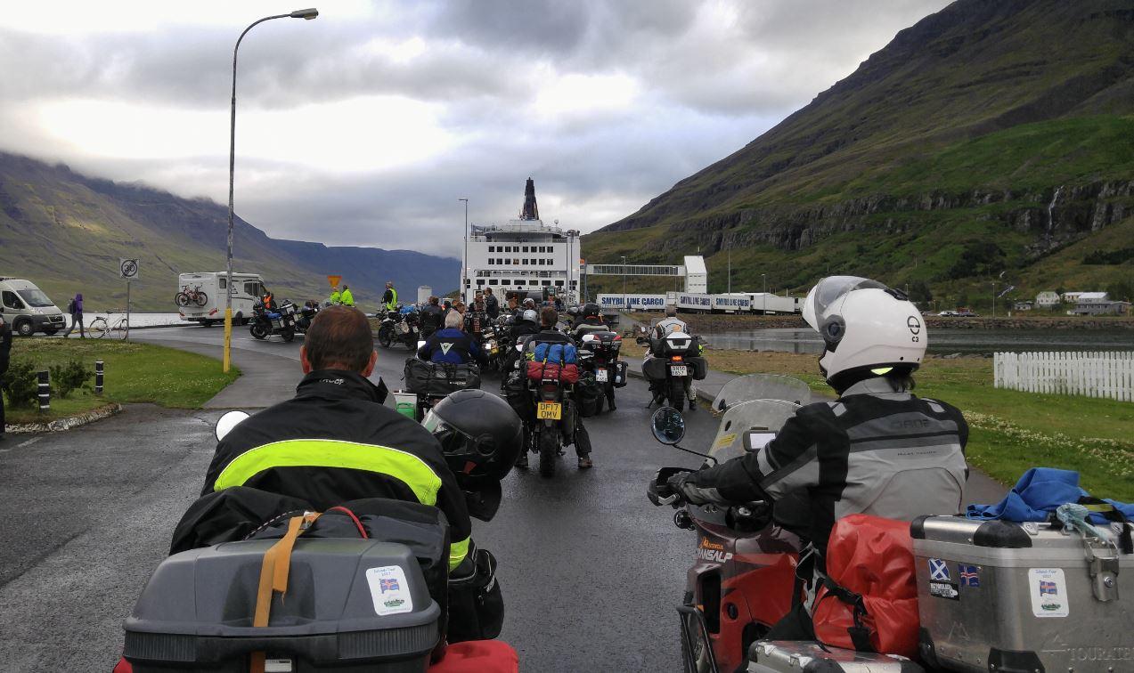 Letzter Landeindruck von Island