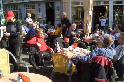 Kaffeepause in Hachenburg